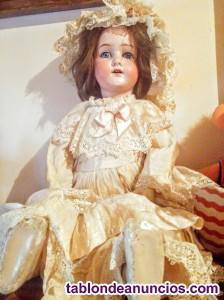 Vendo muñeca antigua para coleccionistas madrid