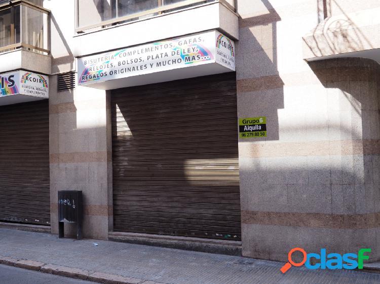 ALQUILER LOCAL COMERCIAL EN EL CENTRO DE LLIRIA