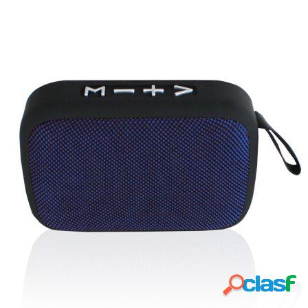 Altavoz bluetooth approx appspbt01bbl azul y negro - 3w rms