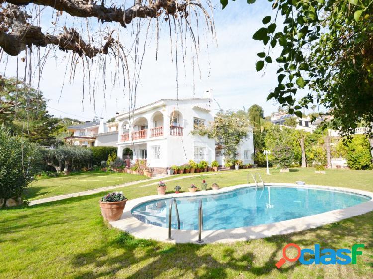 Casa vistas mar en Sitges Vallpineda
