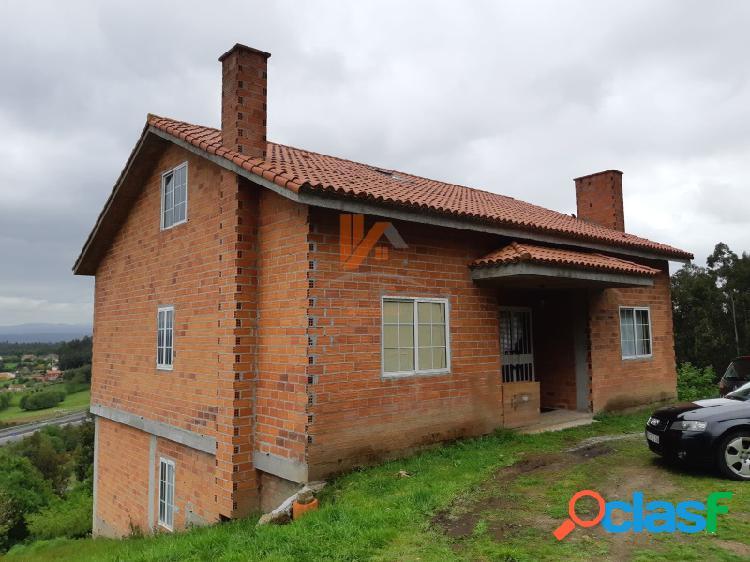 Chalet en construcción en Penelas, a 8 km de Santiago
