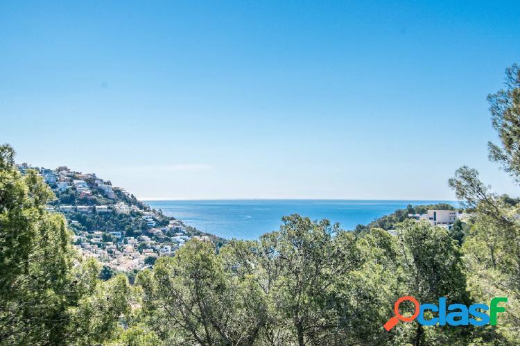 Gran parcela con vistas al mar en Altea Hills