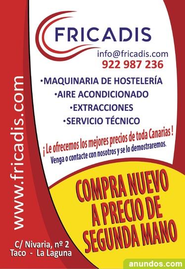 Maquinaria de hosteleria y alimentacion - San Cristóbal de