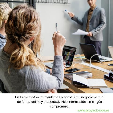 ProyectoAloe te ayuda a construir tu negocio natural