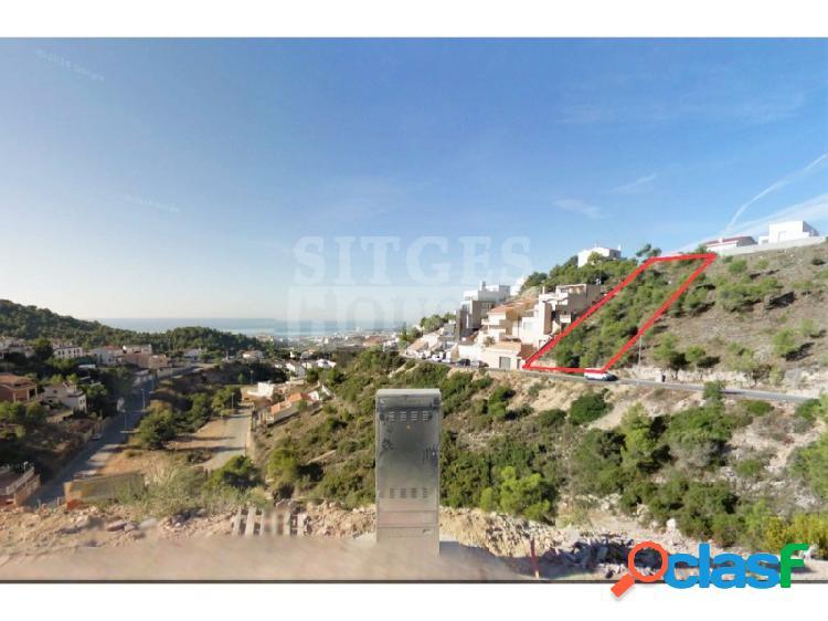 Terreno en Sitges Quint Mar vistas mar