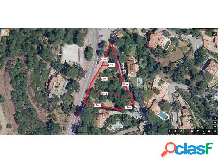VENTA PARCELA EL MADROÑAL 2.400M2