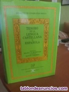 Vendo tesoro de la lengua castellana (diccionario