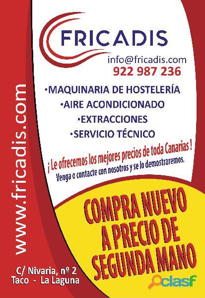 MAQUINARIA DE HOSTELERÍA Y ALIMENTACION