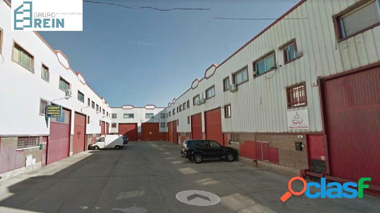 OPORTUNIDAD VENTA DE NAVE INDUSTRIAL EN ALGETE