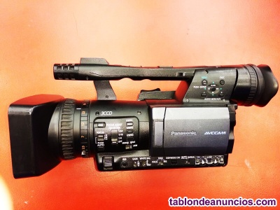Videocámara profesional panasonic hmc151