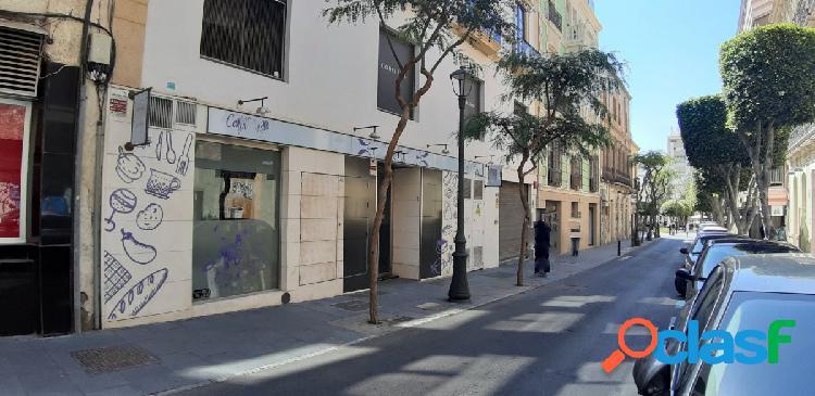 Alquiler de local comercial en el centro de Almería