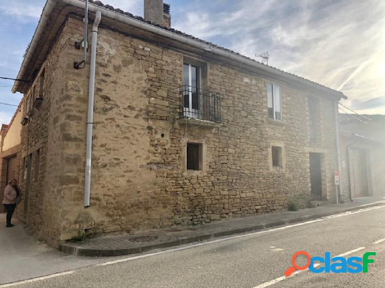 Casa de piedra en Lerga