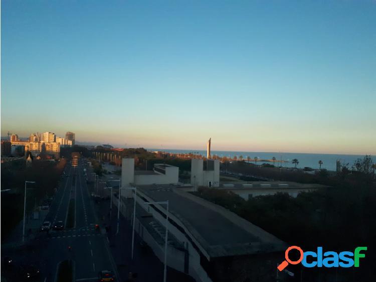 En 1ª línea de mar y último piso, 6ª planta en la Vila