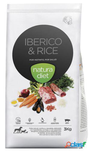 Natura Diet Iberico y Arroz para Perros 3 Kg