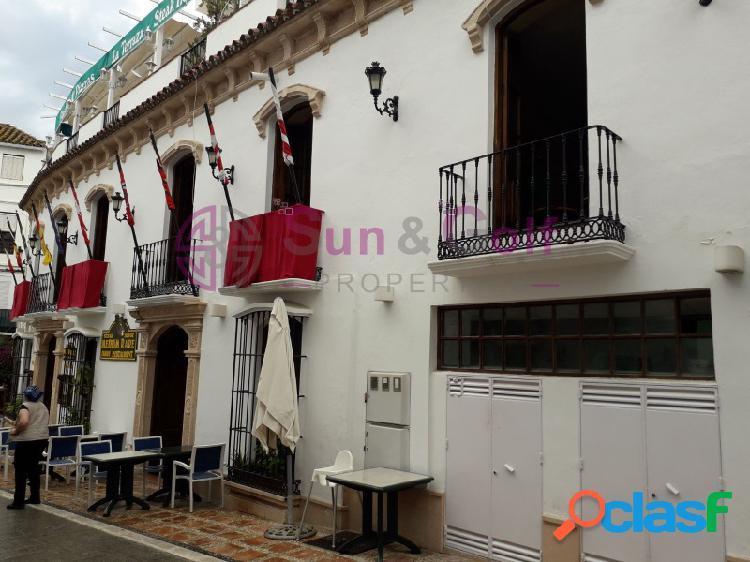 Edificio comercial en el Centro Histórico de Marbella.
