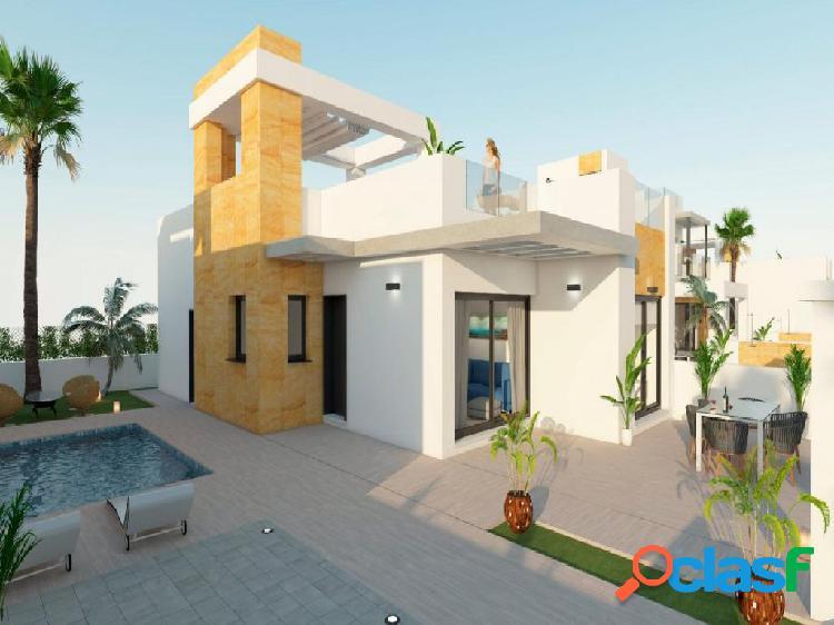 Estupendas villas de lujo 3 dormitorios con piscina privada