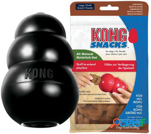 KONG Pack Extreme Extra Large y Snack Liver Large