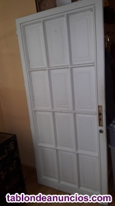 Oferta¡¡¡...puerta de madera maciza buena!!!