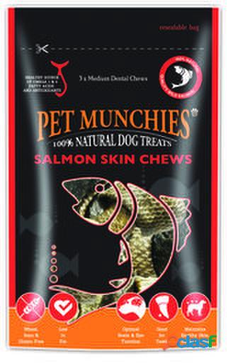 Pet Munchies Salmon Skin Chews 90 GR