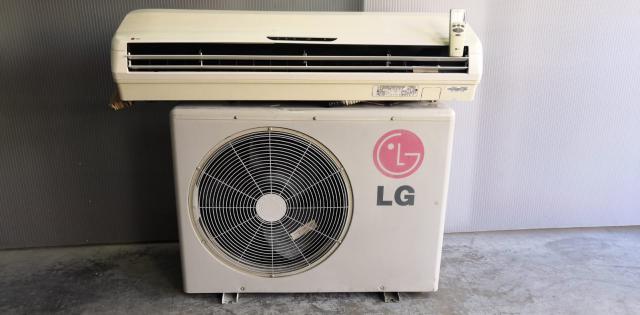Aire acondicionado LG split  frig+bomba