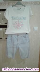 Pantalón corto y camiseta