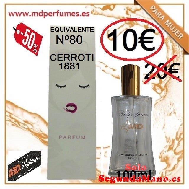 Perfume Equivalente Mujer Cerroti ml Alta gama marc