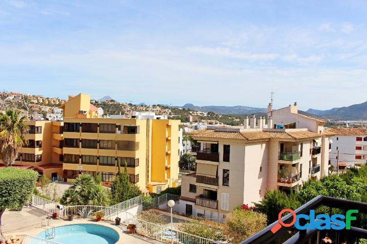 Apartamento con vistas despejadas en Santa Ponça