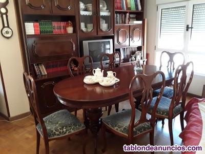 Comedor completo con mueble-bar