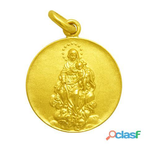 Medalla virgen de la consolación oro