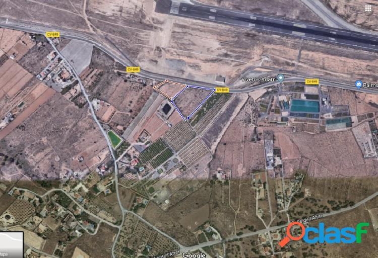 Vendo 2 parcelas cerca de aeropuerto Alicante