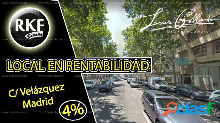 Venta Local comercial - Recoletos, Salamanca, Madrid