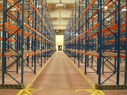 Estanterías industriales almacén