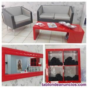 Mobiliario de peluquería