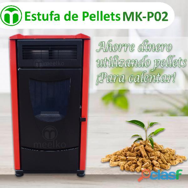 estufa de pellets MK P02