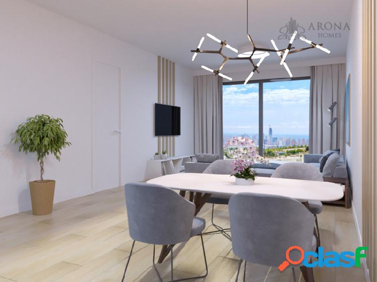 Un exclusivo conjunto de dúplex, apartamentos y villas en