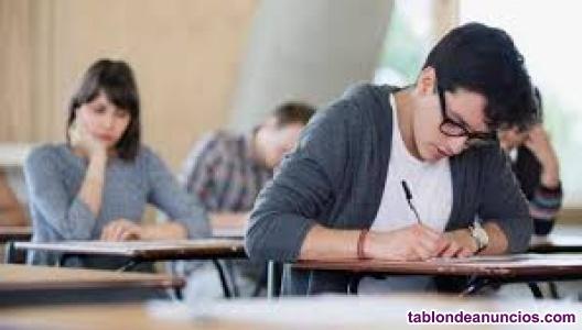Clases particulares matemáticas, lengua e inglés.