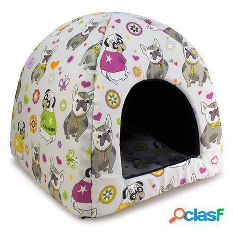 Arquivet Iglú Bulldog para Perros y Gatos 480 GR