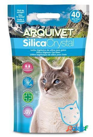 Arquivet SilicaCrystal para Gatos 5 KG