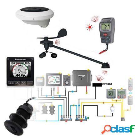 I70s, kit de instrumentacion inalambrico, sensor de rumbo y