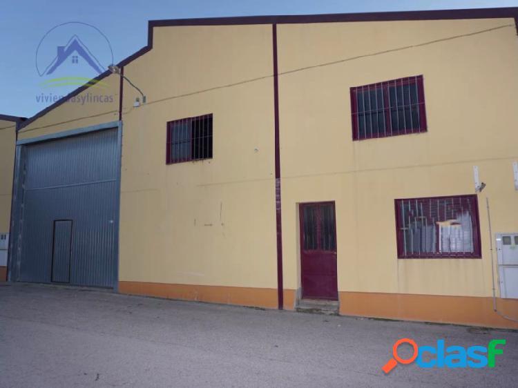 Venta nave industrial en Chinchilla, Albacete. Oportunidad
