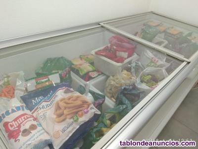 Traspaso tienda de congelados