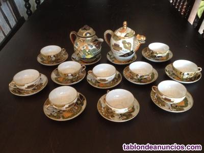 Oportunidad: juego de café antiguo en porcelana china