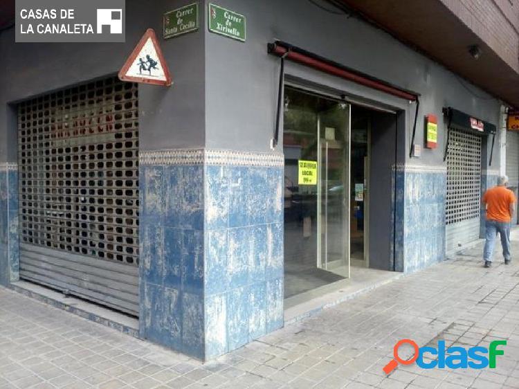 LOCAL COMERCIAL DE 96 M2 EN LA ZONA BLASCO IBAÑEZ,