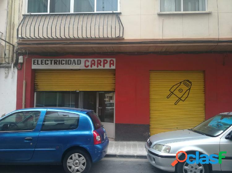 Local comercial con escaparate