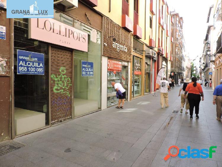 Magnífico local en una de las calles mas comerciales de