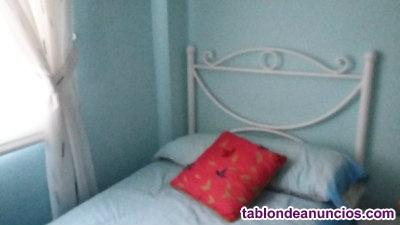 Cabecero cama forja