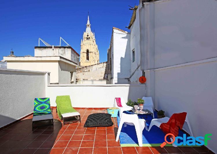 Excelente ático en el centro de Málaga
