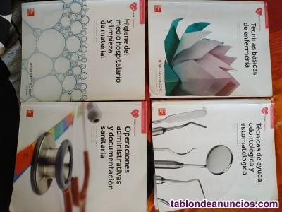 Libros técnico en cuidados auxiliares de enfermeria