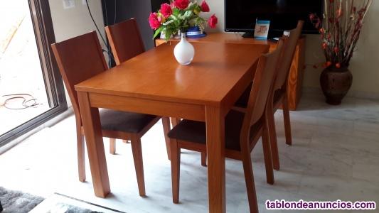Mesa comedor & 4 sillas/ mesa tv / mesa centro
