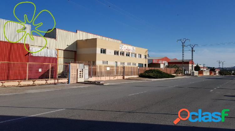 Nave Industrial en venta en Av Rio Guadalentin, Lorca.
